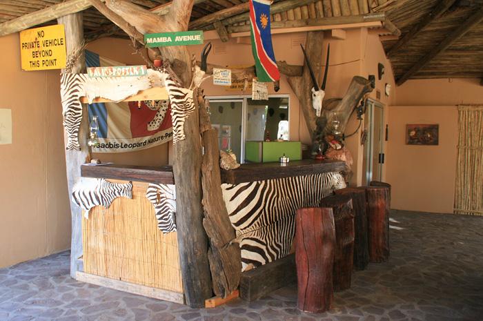 Rustikale Bar unterkunft